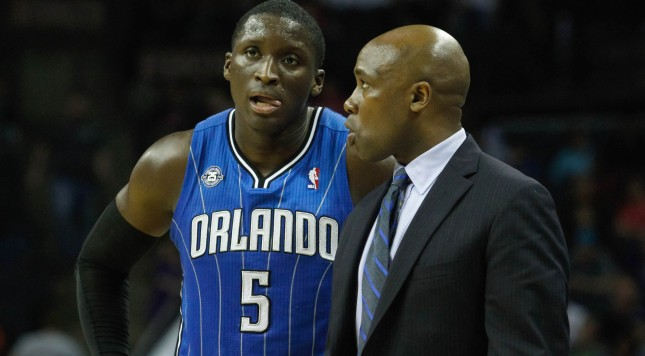Without Victor Oladipo, Jacque Vaughn will have to trust his players to step in and step up. Photo by Jeremy Brevard-USA TODAY Sports