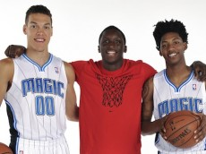 Orlando Magic Introduce Their 2014 NBA Draft Picks Aaron Gordon, Elfrid Payton and Roy Devyn Marble