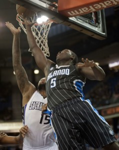 Victor Oladipo does not quite move the needle yet to make the Magic contenders. Photo by Ed Szczepanski-USA TODAY Sports