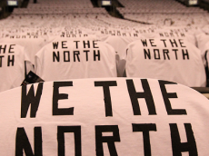 We The North   (Photo credit: Raptors vs. Nets – Game 5 – NBAE/Getty Images)