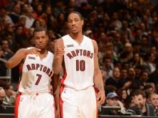 Toronto Raptors Kyle Lowry & DeMar DeRozan