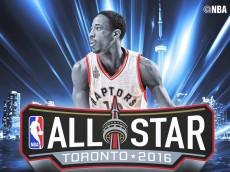 DeMar DeRozan, Toronto Raptors: NBA All-Star Guard (Reserve), NBA Eastern Conference, 2016
