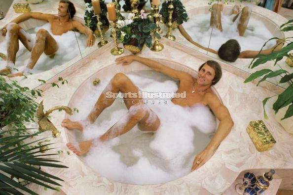 rick barry in the tub