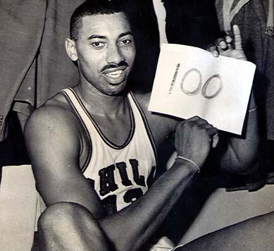 wilt 100 points