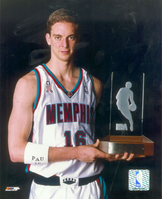 pau gasol rookie of the year