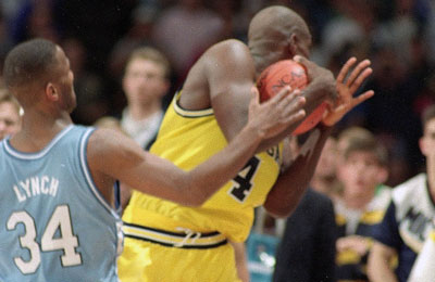 chris webber michigan time out