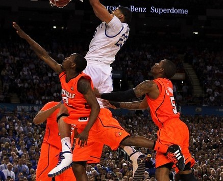 anthony davis dunking on louisville