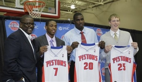 detroit pistons draft picks
