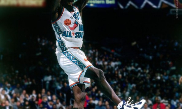Shawn Kemp in Kamikaze - Navy-White 1