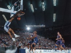 grant hill 1991 ncaa title game alley-oop