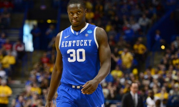 kentucky wildcats julius randle in the ncaa tournament 2014