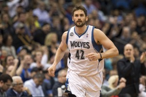 Kevin Love running