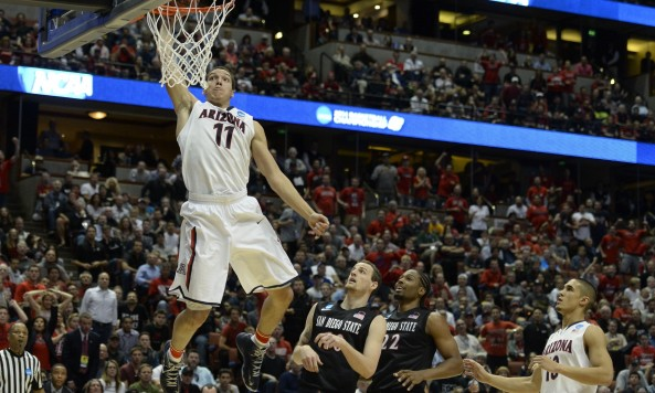 aaron gordon dunking 2014 ncaa tournament