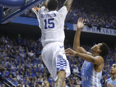 willie cauley-stein dunks vs north carolina