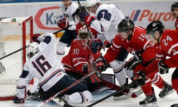 USA vs Canada WJC 2013