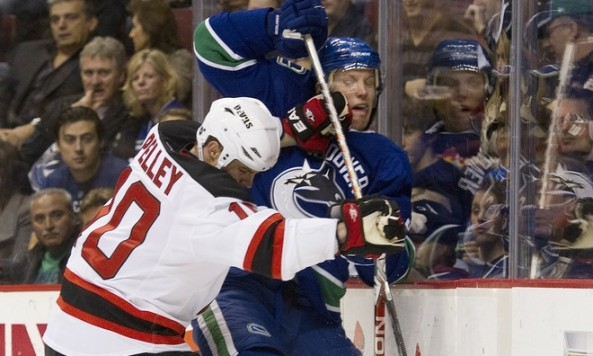 Pelley vs. Canucks