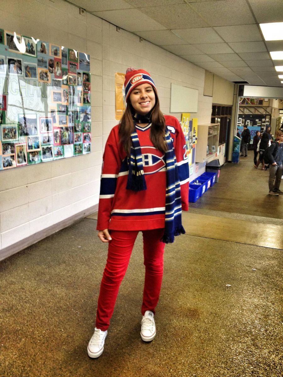 Girl Hockey Fans Girls in Hockey Jerseys