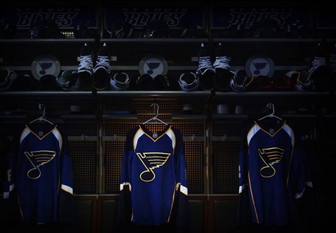 BluesLockerRoom