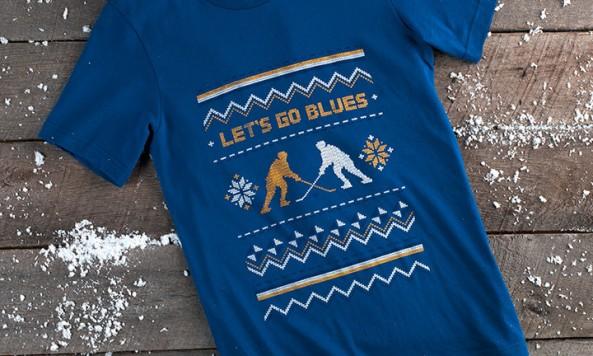 BluesHolidayShirt