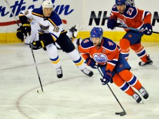 EDMONTON , AB - OCTOBER 15:  at Rexall Place on October 15, 2015 in Edmonton, Alberta, Canada.(Photo by Dan Riedlhuber/Getty Images) *** Local Caption *** player;player