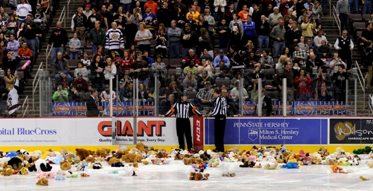 Teddy Bear Toss 2012