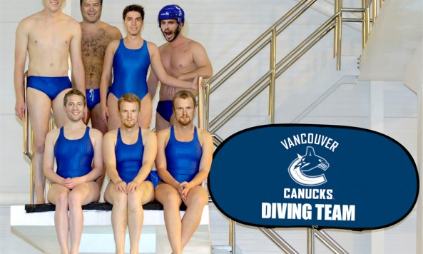 canucks diving