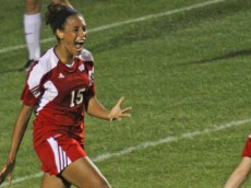 Wisconsin v UConn women's soccer (photo by Bob Stowell)