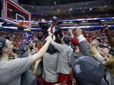 NCAA Wisconsin Arizona Basketball