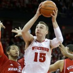 MADISON, WI - JANUARY 15: Sam Dekker #15 of the Wisconsin Badgers drives to the hoop during the first half against the Nebraska Cornhuskers at Kohl Center on January 15, 2015 in Madison, Wisconsin. (Photo by Mike McGinnis/Getty Images)