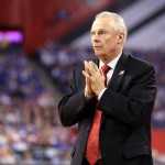 INDIANAPOLIS, IN - APRIL 04: Head coach Bo Ryan of the Wisconsin Badgers looks on from the sideline in the first half against the Kentucky Wildcats during the NCAA Men's Final Four Semifinal at Lucas Oil Stadium on April 4, 2015 in Indianapolis, Indiana.  (Photo by Streeter Lecka/Getty Images)