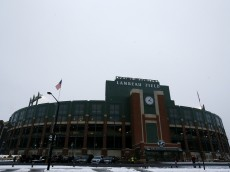 GREEN BAY, WI - DECEMBER 08:  A general view of Lambeau Field prior to the game between the Green Bay Packers and the Atlanta Falcons on December 8, 2014 in Green Bay, Wisconsin.  (Photo by Kevin C. Cox/Getty Images)