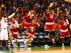 during the second round of the 2016 NCAA Men's Basketball Tournament at Scottrade Center on March 20, 2016 in St Louis, Missouri.