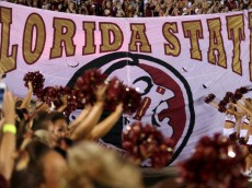TALLAHASSEE, FL - SEPTEMBER 22:  A general view of fans of the Florida State Seminoles during their game at Doak Campbell Stadium on September 22, 2012 in Tallahassee, Florida.  (Photo by Streeter Lecka/Getty Images)
