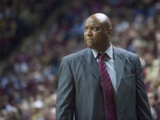 TALLAHASSEE, FL - FEBRUARY 2: Florida State Seminoles head coach Leonard Hamilton watches his team play during their game against the Duke Blue Devils at the Donald L. Tucker Center on February 2, 2013 in Tallahassee, Florida. The Blue Devils beat the Seminoles 79-60 (Photo by Jeff Gammons/Getty Images)