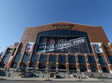 leading up to the 2015 Final Four at Lucas Oil Stadium on April 1, 2015 in Indianapolis, Indiana.