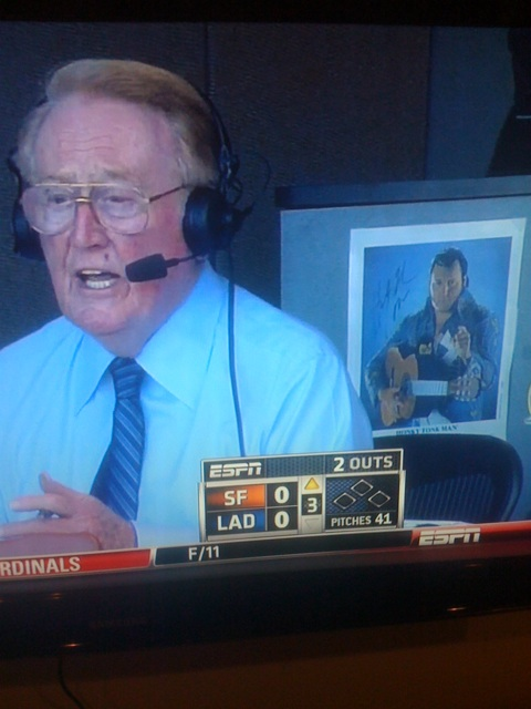 Vin Scully and The Honky Tonk Man