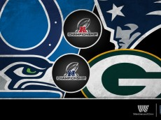 NFL AFC-NFC Championships Graphic