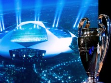 NYON, SWITZERLAND - JUNE 24:  The UEFA Champions League trophy is displayed in the draw room ahead to the UEFA CChampions League Q1 and Q2 qualifying rounds draw at the UEFA headquarters on June 24, 2013 in Nyon, Switzerland.  (Photo by Harold Cunningham/Getty Images)