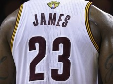 in Game 3 of the 2016 NBA Finals at Quicken Loans Arena on June 8, 2016 in Cleveland, Ohio. NOTE TO USER: User expressly acknowledges and agrees that, by downloading and or using this photograph, User is consenting to the terms and conditions of the Getty Images License Agreement.