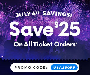 ticket network 4th of July
