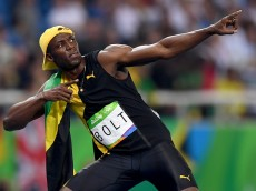 competes during the Men's 100m Final on Day 9 of the Rio 2016 Olympic Games at the Olympic Stadium on August 14, 2016 in Rio de Janeiro, Brazil.