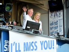 at Dodger Stadium on September 25, 2016 in Los Angeles, California.