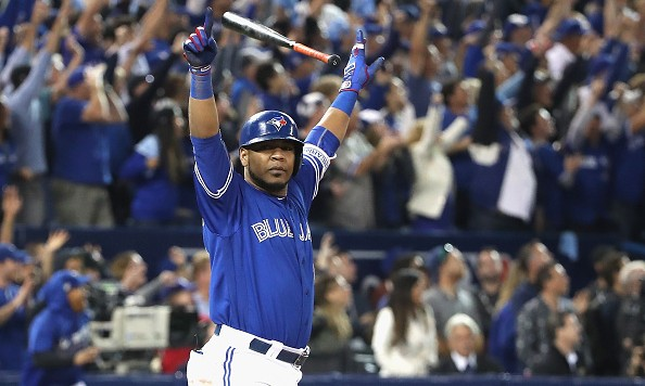 during the American League Wild Card game at Rogers Centre on October 4, 2016 in Toronto, Canada.