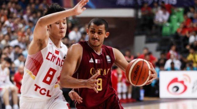 Mizo Amin aka Mohamed Hassan #8 from Team Qatar Vs Ding Yanyuhang