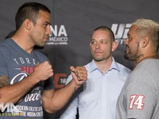 Fabricio Werdum and Mark Hunt
