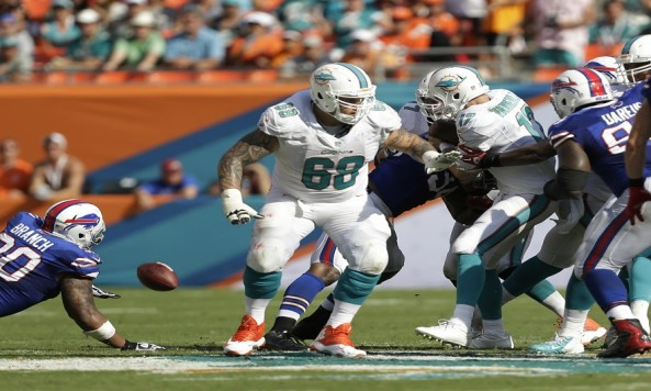 Ryan Tannehill, Richie Incognito, Mario Williams