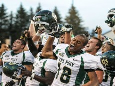 NCAA Football: Cal Poly at Wyoming
