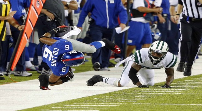 NFL: Preseason-New York Jets at New York Giants
