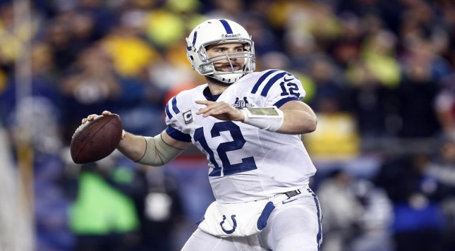 NFL: Divisional Round-Indianapolis Colts at New England Patriots