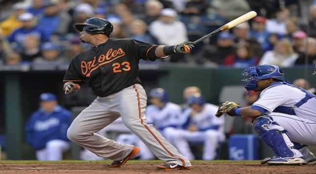 MLB: Baltimore Orioles at Kansas City Royals